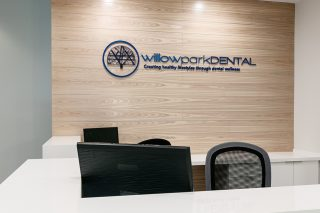 willowpark reception desk